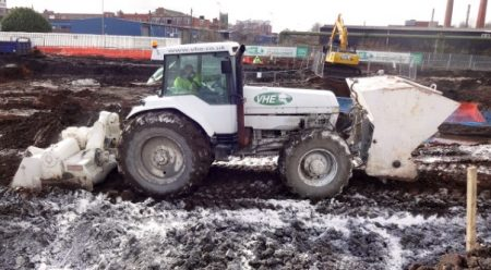 Compacting Soil-lime