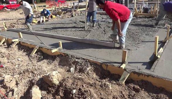 Concrete Foundation Finishing