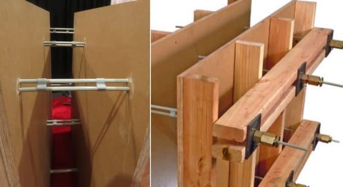 Fibreglass Tie System
