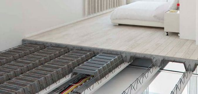 Modular Lightweight Concrete Floor System