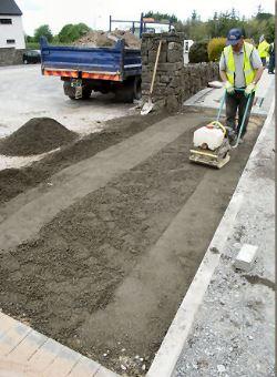 Placement of Concrete Subbase