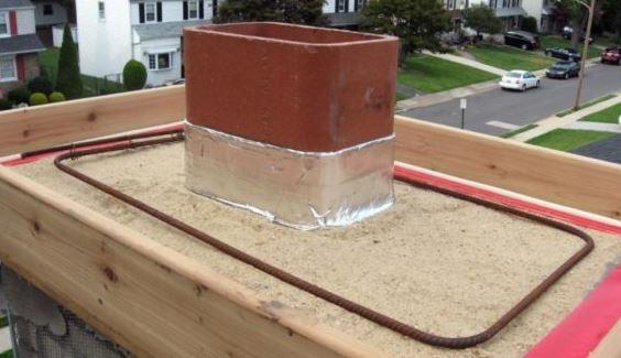 Construction Of Concrete Chimney Crown