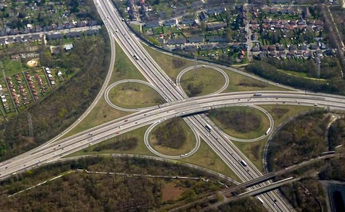 Cloverleaf Interchange