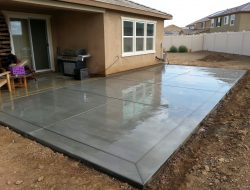 Garage Concrete Floor Slab – Construction, Thickness and Cost