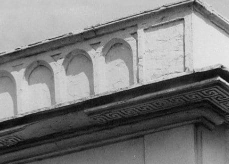 Panelled Parapet Wall