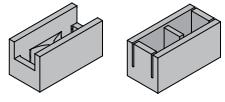 Shape of Bond Beam Block