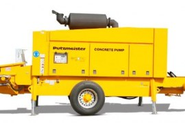 Trailer Mounted Concrete Pumps