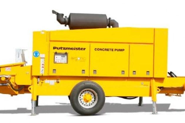 Trailer Mounted Concrete Pumps