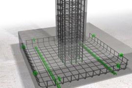 Placement of Rebar in Footings – Horizontal and Vertical Rebars