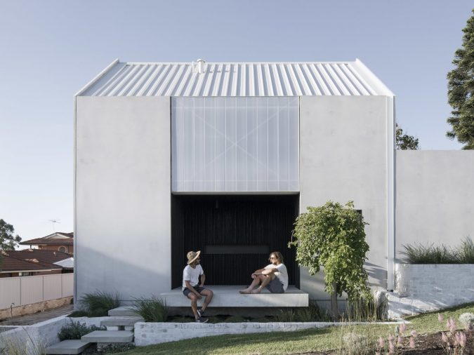 Carbon Neutral Concrete House