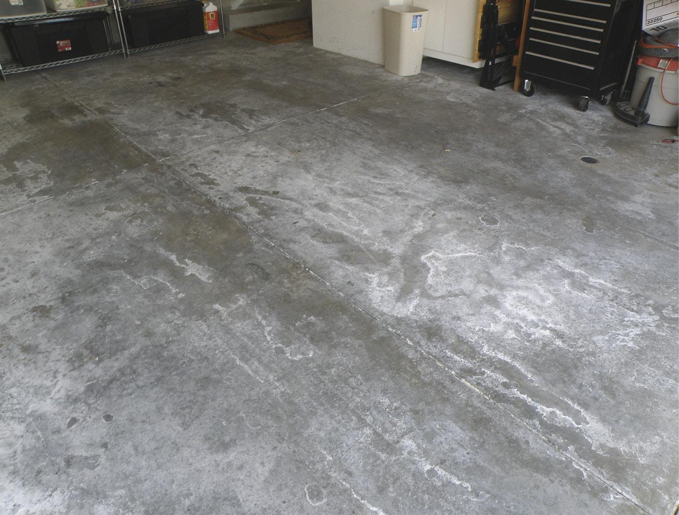 Moisture Problems In Concrete Slab