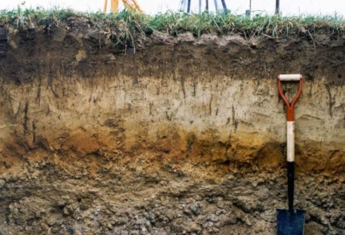 Layers of Stratified Soil