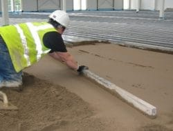 Mix Ratio of Sand-Cement Screed for Floors
