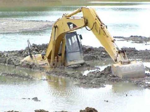 Wet Construction Site