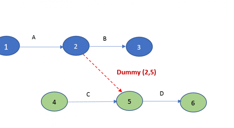 Dummy Activity in Network Analysis