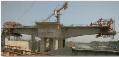 Cantilever Construction Method for Box Girder Bridge