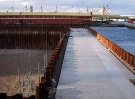 Double Wall Sheet pile Cofferdam