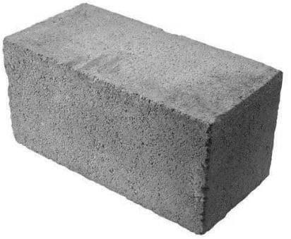 Solid Precast Concrete Block