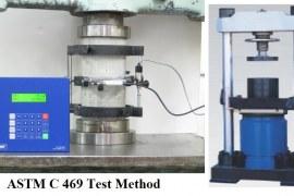 Determination of Elastic Modulus of Concrete in Accordance with ASTM C469