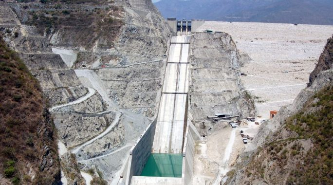 Chute Spillway, Tehri Dam, India