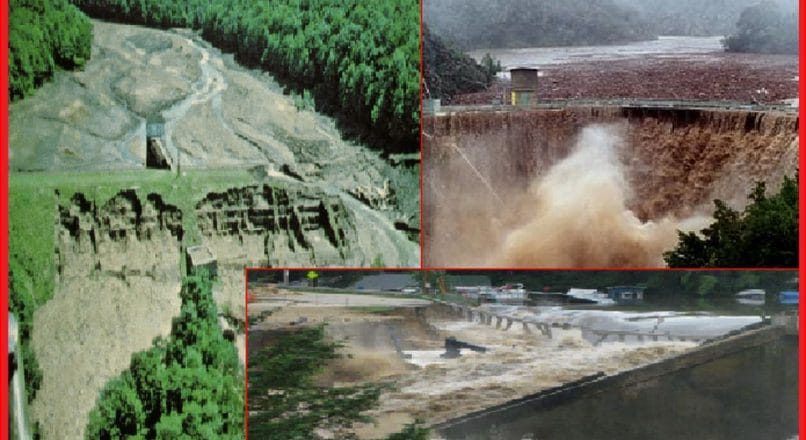 Why do Modern Dams Fail?