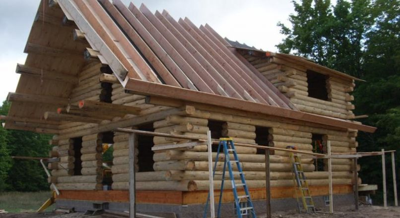Stacked Log Construction – Types, Features and Benefits