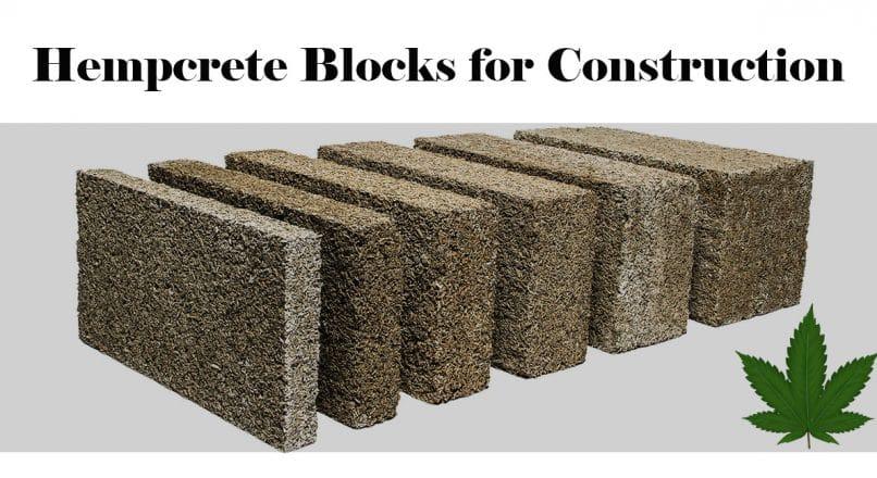 Hempcrete Blocks for Construction
