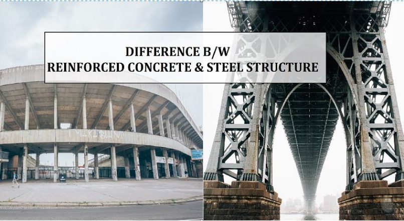 Difference Between Reinforced Concrete (RC) and Steel Structures