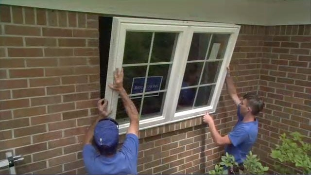 Installing Window in Brick Masonry Wall