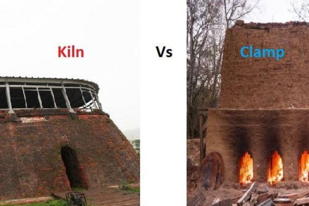 Kiln Burning Vs Clamp Burning of Bricks