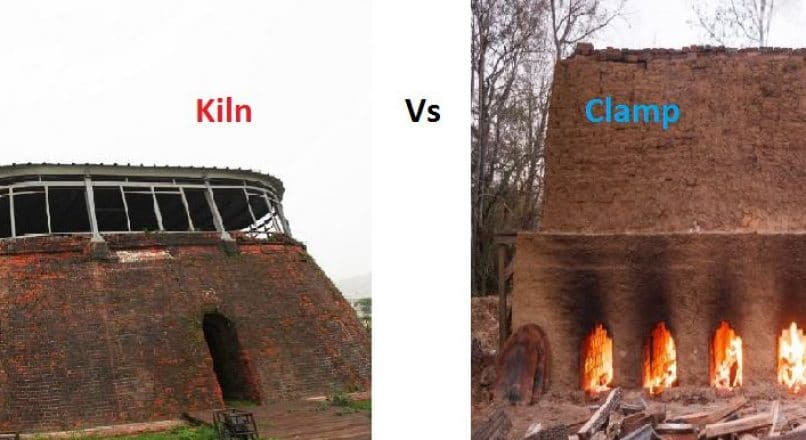 Kiln Burning Vs Clamp Burning of Bricks