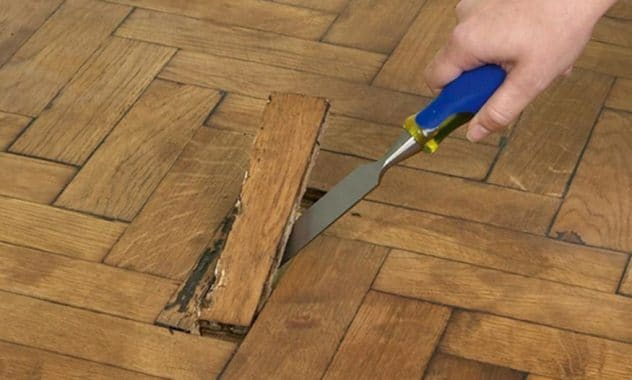Repairing Wooden Floor