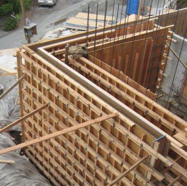 Building formwork