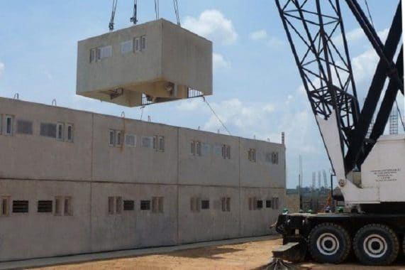Precast Concrete Construction Method