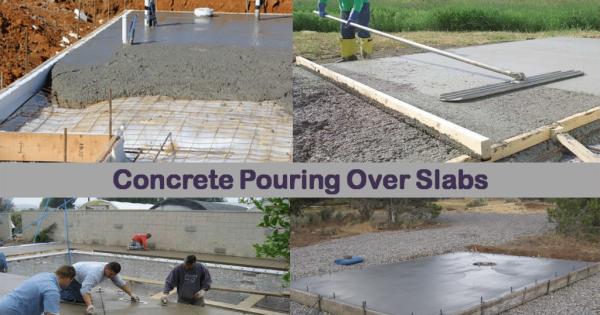 Concrete Over Existing Slab