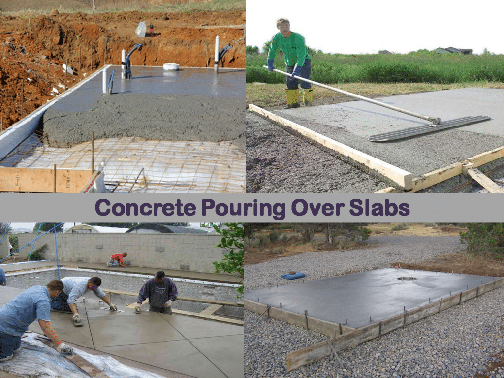 Concrete Over Existing Slab