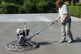 Power-Pole Finisher for Concrete- Types and Uses