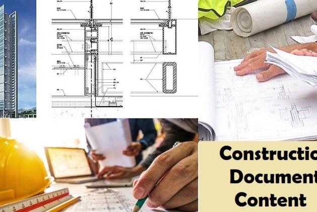 What are the Contents of Construction Documents?