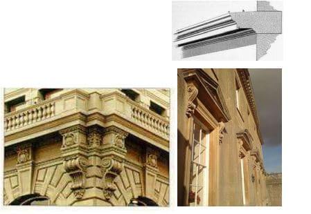 Cornice in Masonry Construction