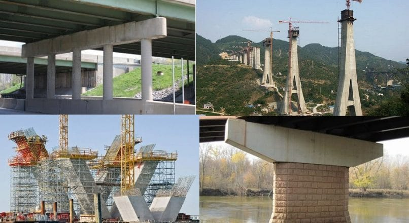 What is Bridge Pier? Types of Bridge Piers