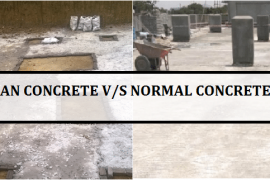 Difference between Lean Concrete and Normal Concrete