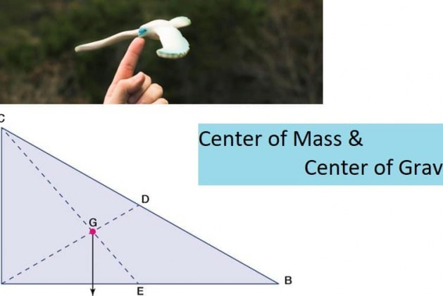 What is Center of Mass and Center of Gravity?