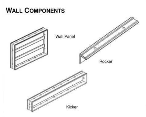 Wall Components in Mivan Shuttering