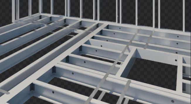 Light Gauge Steel Flooring System