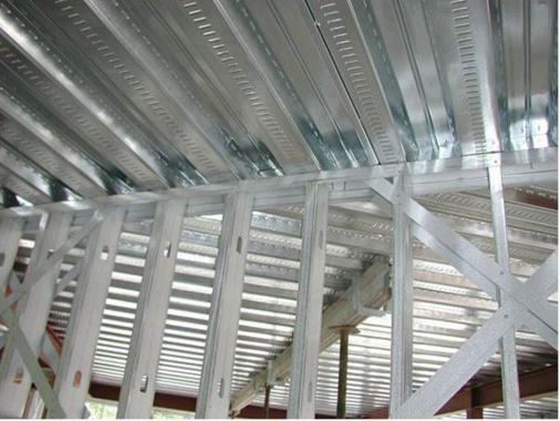 Light Gauge Steel Frame wall and Roof Junction