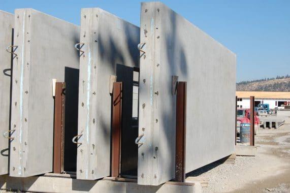Load Bearing Pre-Cast Concrete Walls