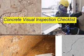 Visual Inspection Checklist for Concrete Structure Based on ACI 201.1R