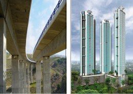 Applications of High-Performance Concrete in Civil Engineering
