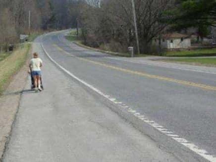 Paved Road Should used as Bike lane