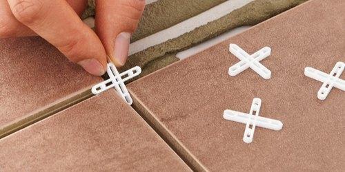 Placing Tile Spacers